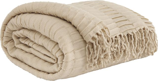 Signature Design by Ashley® Mendez Sand Set of 3 Throws-A1000616