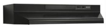 """Broan® 24"""" Black Under Cabinet Range Hood-BU224BL"""