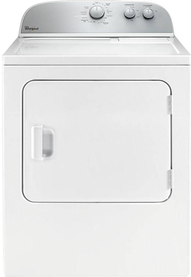 Whirlpool® Front Load Electric Dryer-White-WED4985EW