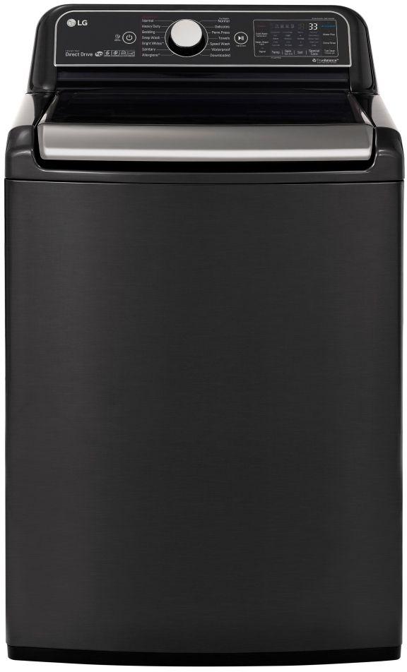 LG 5.5 Cu. Ft. Black Steel Top Load Washer-WT7900HBA