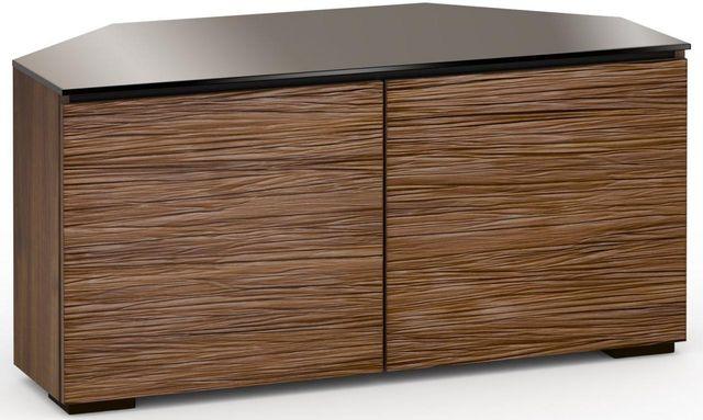 Salamander Designs® Denver 221 CR Corner Cabinet-Textured Medium Walnut-C/DV221CR/MW