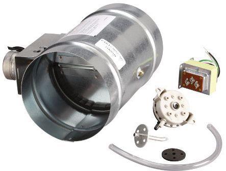 "Broan® 10"" Universal Automatic Make-Up Air Damper with Pressure Sensor Kit-MD10TU"