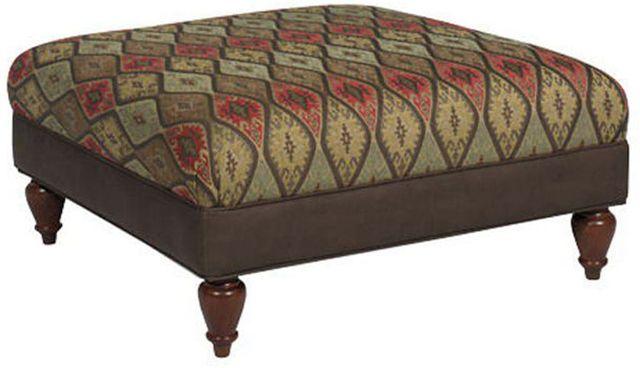 Craftmaster Farmhouse Living Room Ottoman-018200