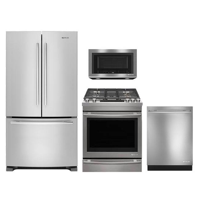 Jennair 4 Piece Kitchen Package Stainless Steel Jeaikitjgs1450fs Boone S Maytag Home Appliance Center
