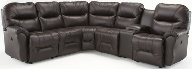 Best Home Furnishings® Bodie Leather Power Reclining Sectional-BODIECPSECT