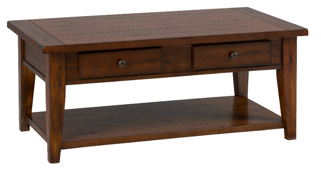 Jofran Inc. Clay County Oak Cocktail Table-443-1