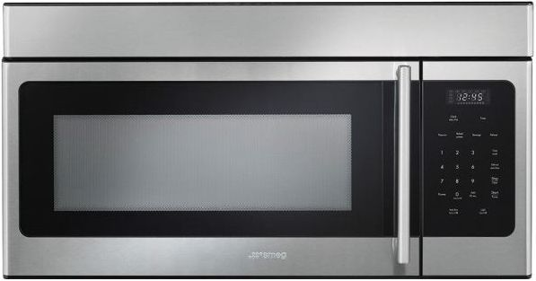 Smeg Over-The-Range Microwave-Stainless Steel-OTR316XU