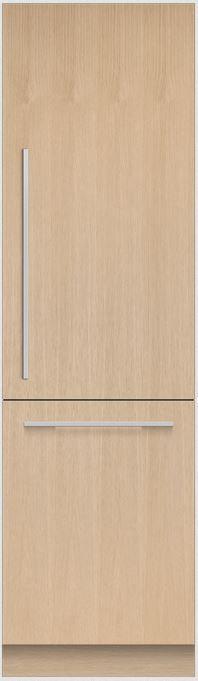 Fisher & Paykel Series 9 12.1 Cu. Ft. Integrated Column Bottom Freezer Refrigerator-RS2484WRUK1