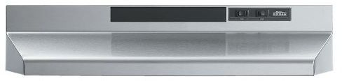 """Broan® 43000 Series 36"""" Stainless Steel Under Cabinet Range Hood-433604"""