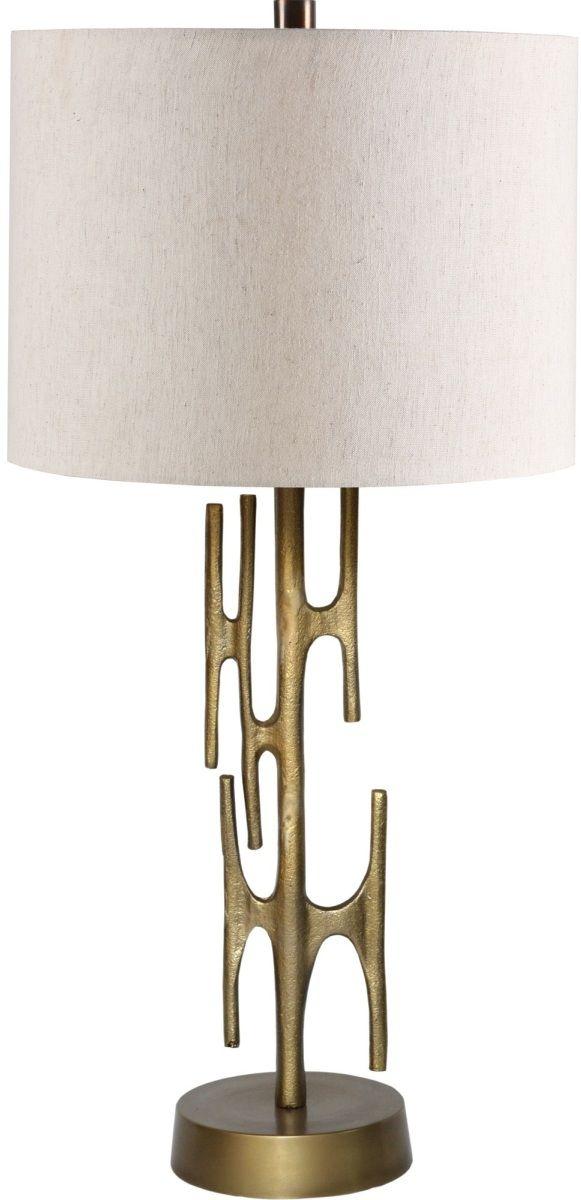 Renwil® Valour Antique Brass Table Lamp-LPT1154