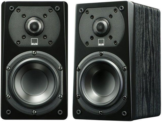 """SVS Premium Black Ash 4.5"""" Prime Satellite Speakers (2 Pack)-PRIME SATELLITE-PAIR-BLACK ASH"""