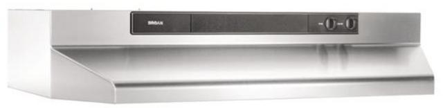 """Broan® BU3 Series 30"""" Stainless Steel Under Cabinet Range Hood-BU330SS"""