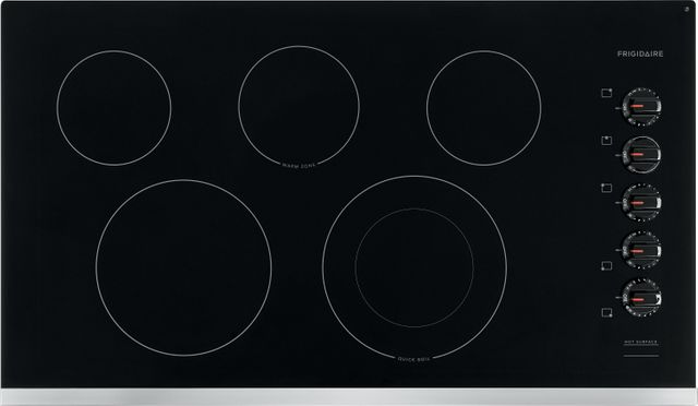 """Frigidaire® 37"""" Stainless Steel Electric Cooktop-FFEC3625US"""