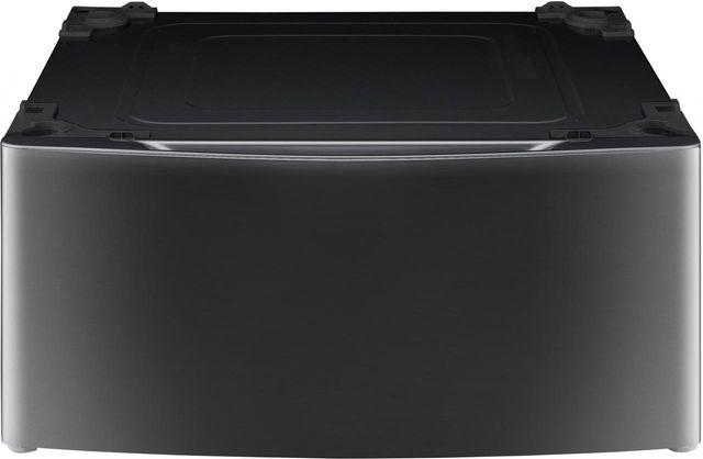 "LG Signature 29"" Black Stainless Steel Laundry Pedestal-WDP5K"
