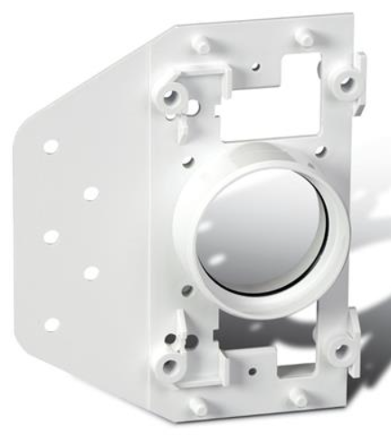 Broan® Central Vacuum System Wall Inlet Plate with Plaster Guard-V144