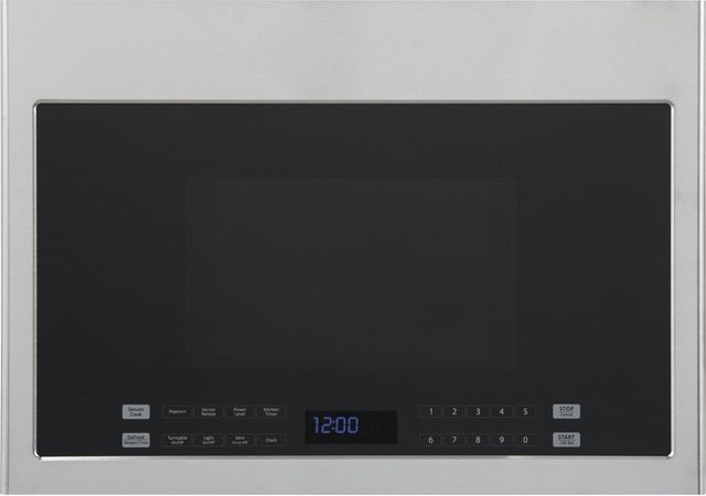 Haier 1.4 Cu. Ft. Black with Stainless Steel Over The Range Microwave-HMV1472BHS