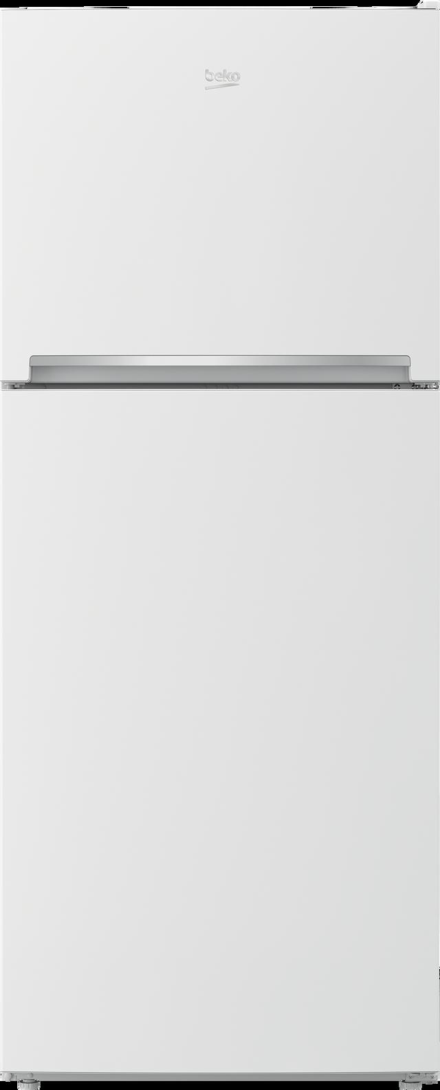 Beko 13.5 Cu. Ft. White Counter Depth Top Mount Refrigerator-BFTF2716WH