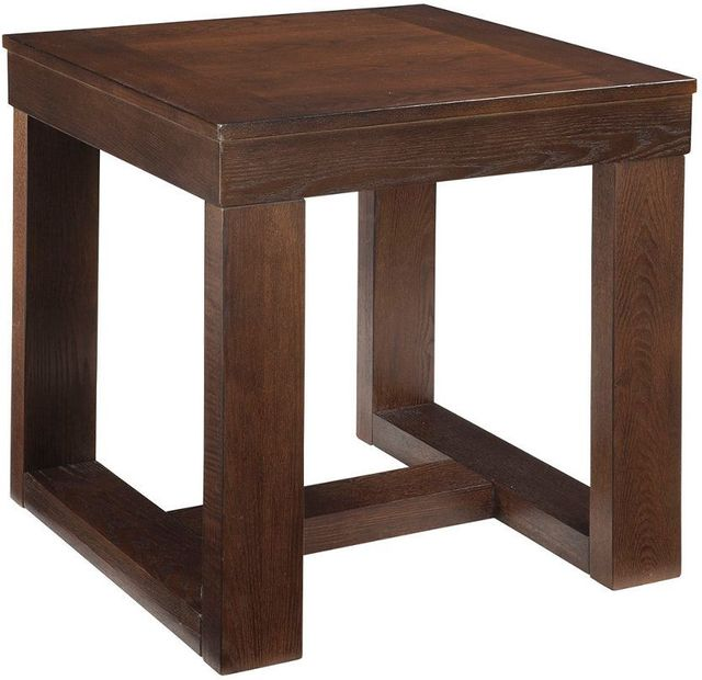 Signature Design by Ashley® Watson Dark Brown Square End Table-T481-2