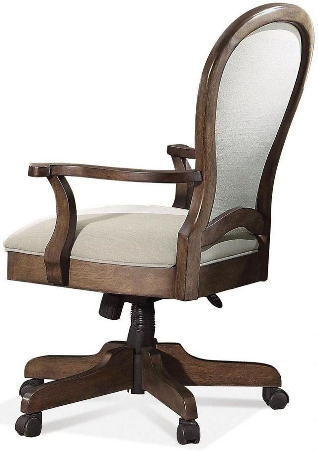 Riverside Furniture Belmeade Round Back Upholstered Desk Chair-15838