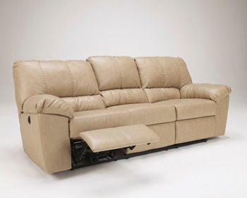 Signature Design by Ashley® Fort Logan Natural Reclining Sofa-4540188