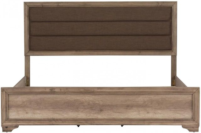 Liberty Furniture Sun Valley Sandstone King Upholstered Headboard & Panel Footboard-439-BR15HF