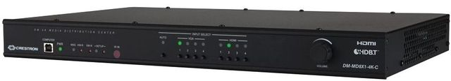 Crestron® 4K Scaling Auto-Switcher-DM-MD8X1-4K-C