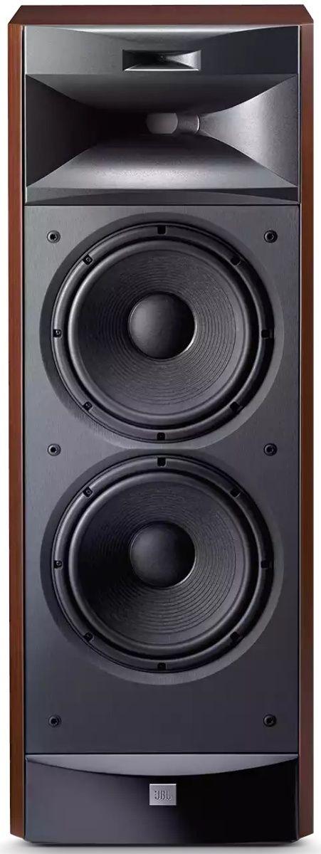 "JBL Synthesis® S3900 Cherry Wood 3-Way Dual 10"" Floor Standing Speaker-S3900"