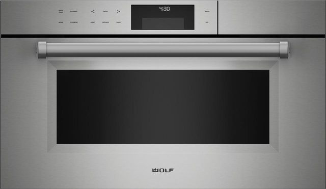 """Wolf® M Series 30"""" Stainless Steel Professional Convection Steam Oven-CSO30PM/S/PH"""