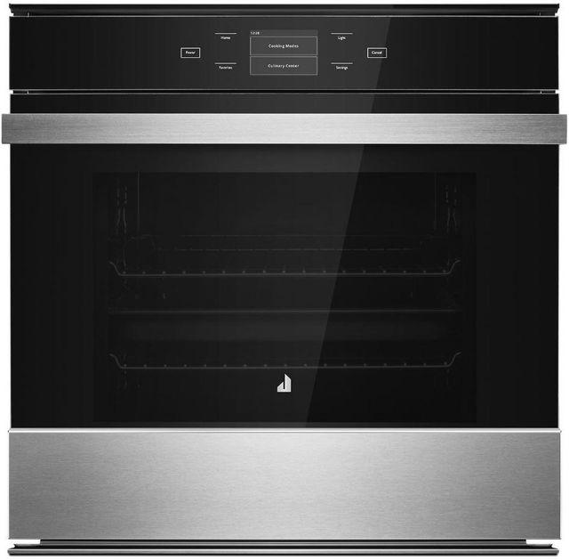 """JennAir® NOIR™ 23.44"""" Floating Glass Black Electric Single Oven Built In-JJW2424HM"""
