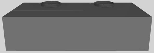 "Vent-A-Hood® 48"" Wall Mounted Range Hood-Gunsmoke-CWH-448 GS"