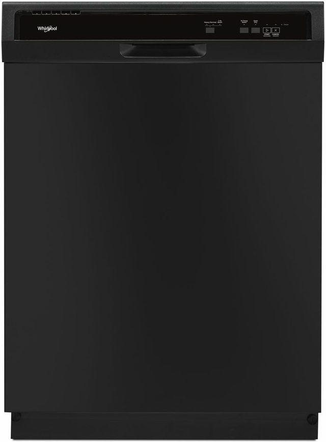 "Whirlpool® 24"" Built In Dishwasher-Black-WDF130PAHB"