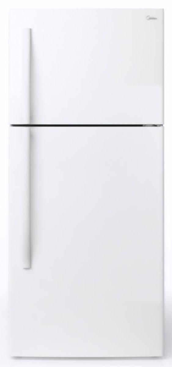 Midea® 18 Cu. Ft. White Top Freezer Refrigerator-WHD-663FWEW1