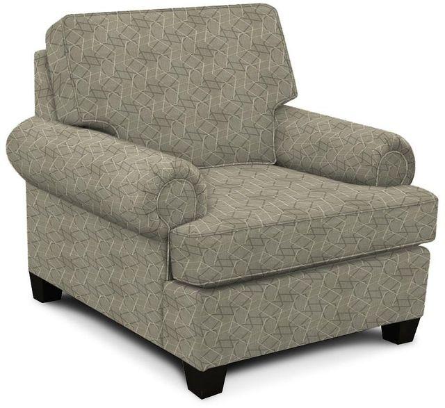 England Furniture Co. Edison Bangle White Chair-8T04-8514