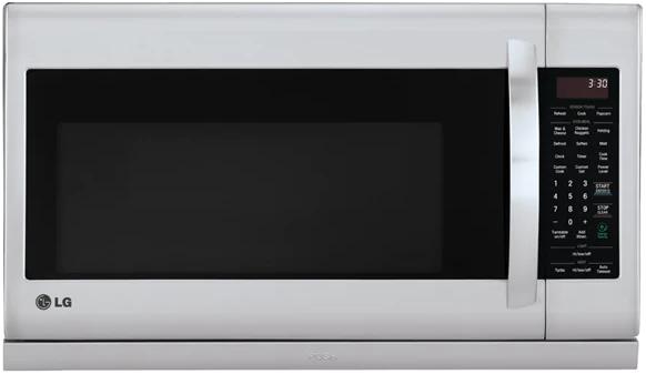 Four à micro-ondes à hotte intégrée LG® de 2,0 pi³ de 30 po - Acier inoxydable-LMV2055ST