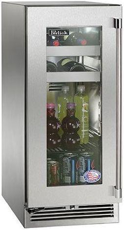 Perlick® Signature Series 2.8 Cu. Ft. Outdoor Beverage Center-Panel Ready-HP15BO-3-4L