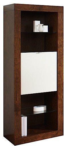 Armoire latérale gauche-droite, brun/blanc, VieBois®-1600 G-D