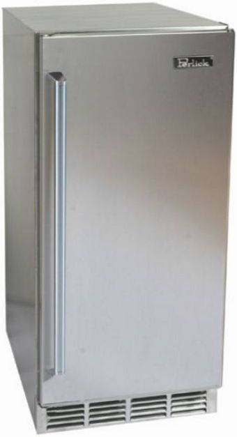 Perlick® Signature Series 2.8 Cu. Ft. Compact Refrigerator-Stainless Steel-HP15RS-3-1R