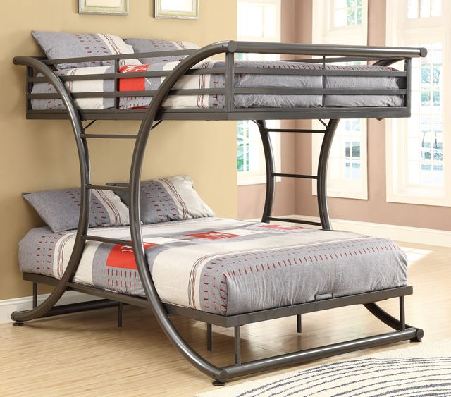 Coaster® Youth Bunk Bed-Full/Full-460078