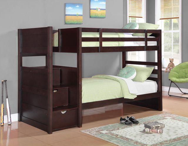 Coaster® Elliott Youth Bunk Bed-Twin/Twin-460441
