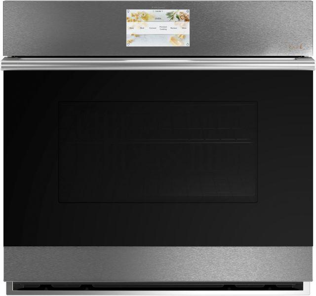 "Café™ Minimal 29.75"" Platinum Glass Electric Built-In Single Oven-CTS70DM2NS5"