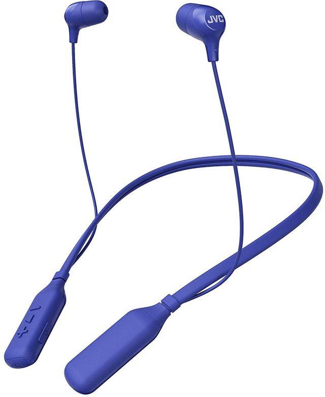 JVC HA-FX39BT Blue Marshmallow Wireless Bluetooth In-Ear Headphones-HA-FX39BT-A