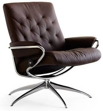 Stressless® by Ekornes® Metro Low Back Star Base Chair-1291321