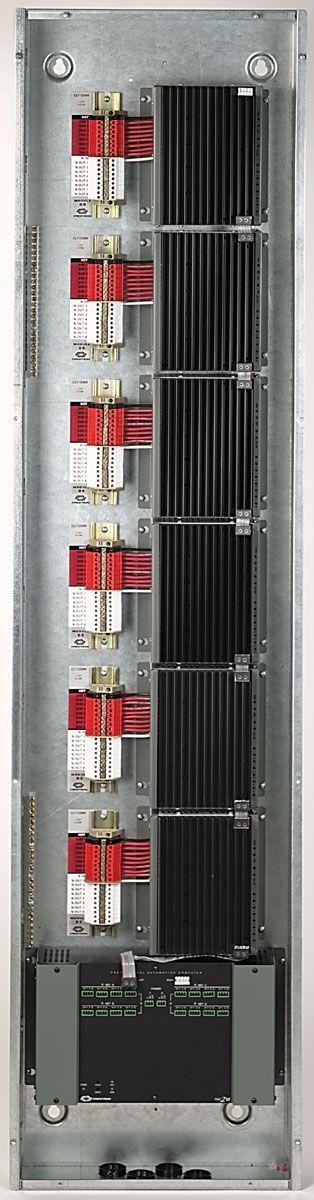 Crestron® Automation 7 Modules High Enclosure-CAEN-7X1
