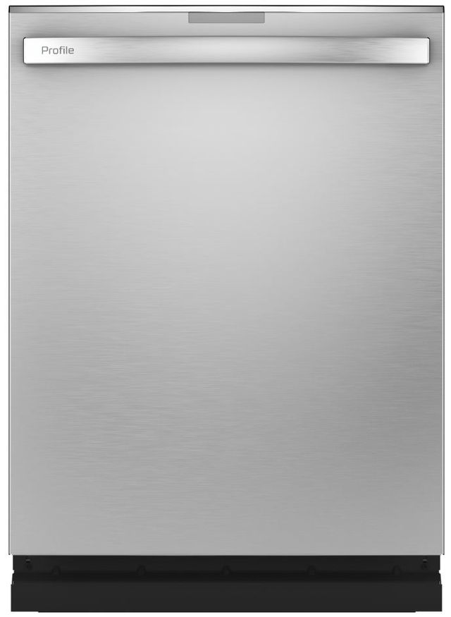 """GE Profile™ 24"""" Stainless Steel Built In Dishwasher-PDT715SYNFS"""