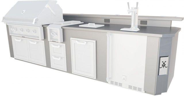 Hestan GE Series 12' Stainless Steel Outdoor Living Suite-GESDB12