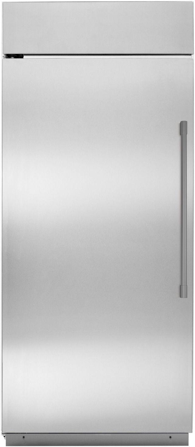 Monogram 21.97 Cu. Ft. Stainless Steel Built In All Refrigerator-ZIRS360NNLH