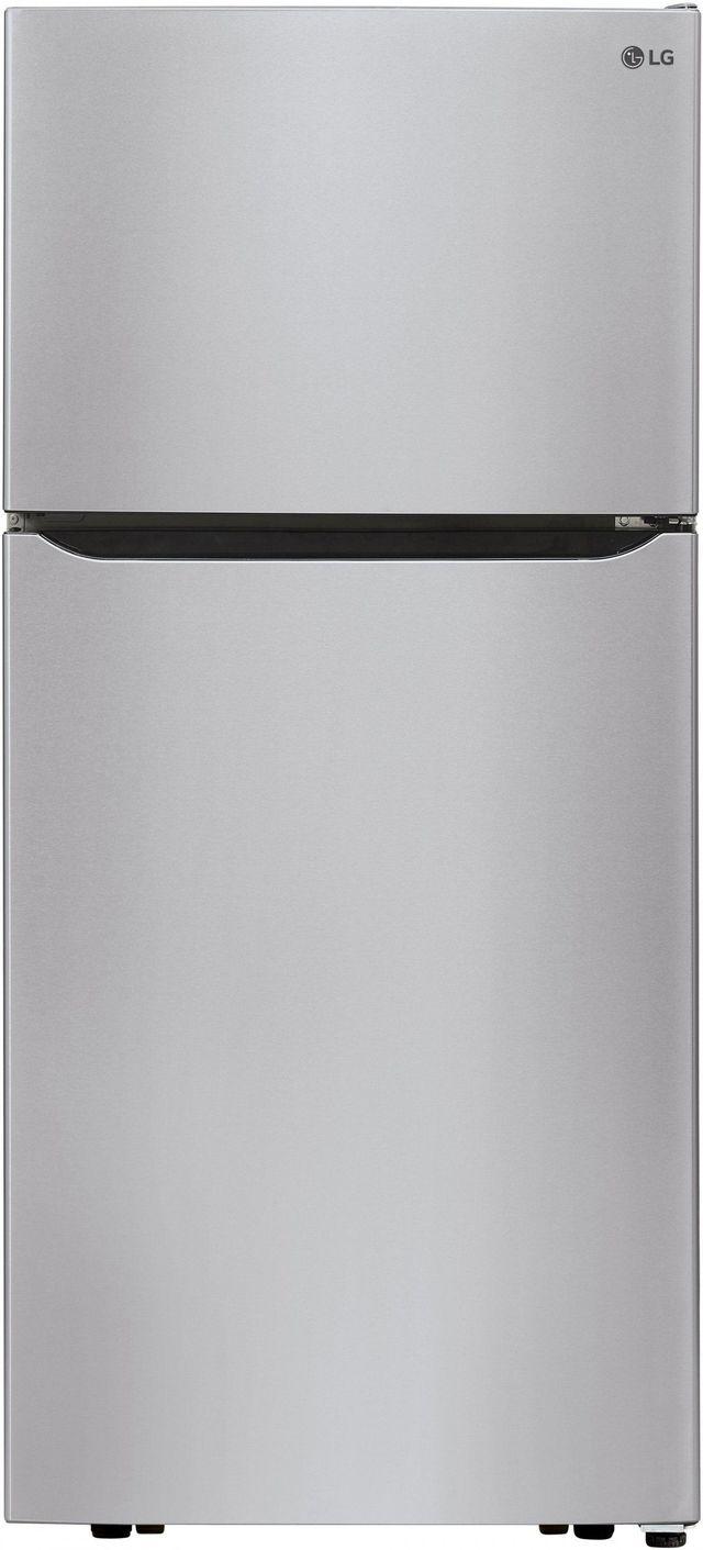 LG 20.2 Cu. Ft. Stainless Steel Top Freezer Refrigerator-LTCS20030S