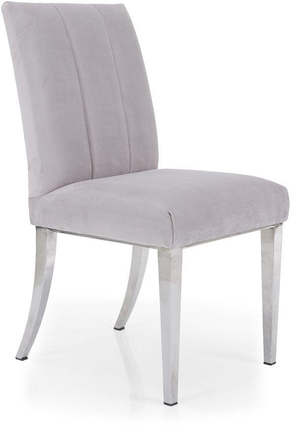 Decor-Rest® Furniture LTD 2935 Gray Side Chair-2935