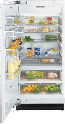Miele MasterCool 18.75 Cu. Ft. Built In Refrigerator-Custom Panels-K1913Vi