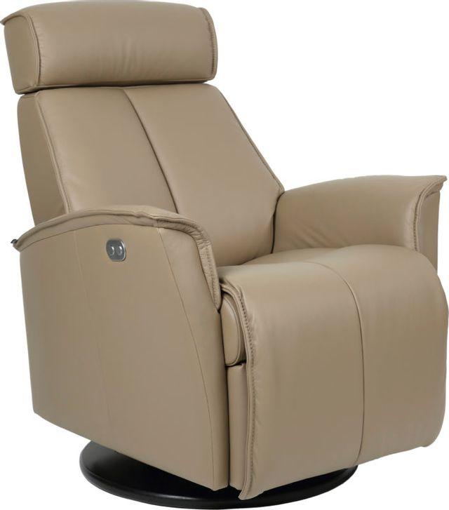Fauteuil inclinable pivotant Relax en cuir Fjords®-Venice-SL 225-SP